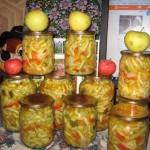 Салат из кабачков по-корейски на зиму